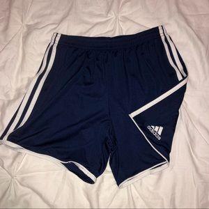 Adidas Soccer Shorts Navy Blue SIZE SMALL